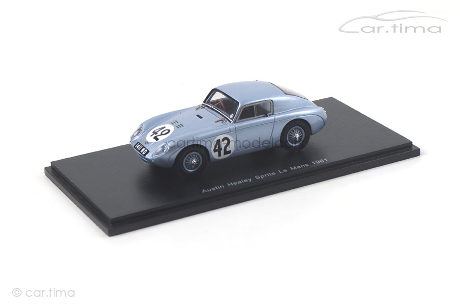 Austin Healey Sprite 24h Le Mans 1961 Colgate/Hawkins Spark 1:43 S4126