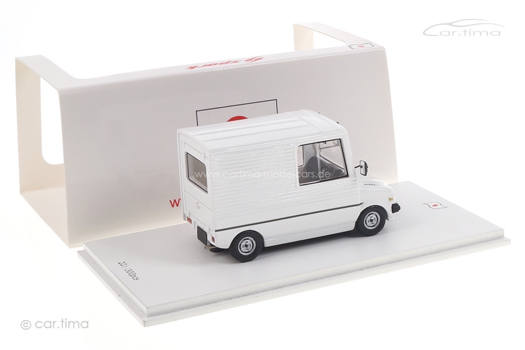 Daihatsu Mira Walk Through Van weiß Spark 1:43 SJ032