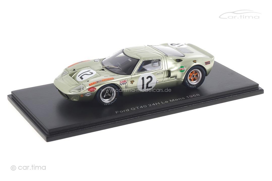 Ford GT40 24h Le Mans 1968 Liddell/Salmon Spark 1:43 S4539