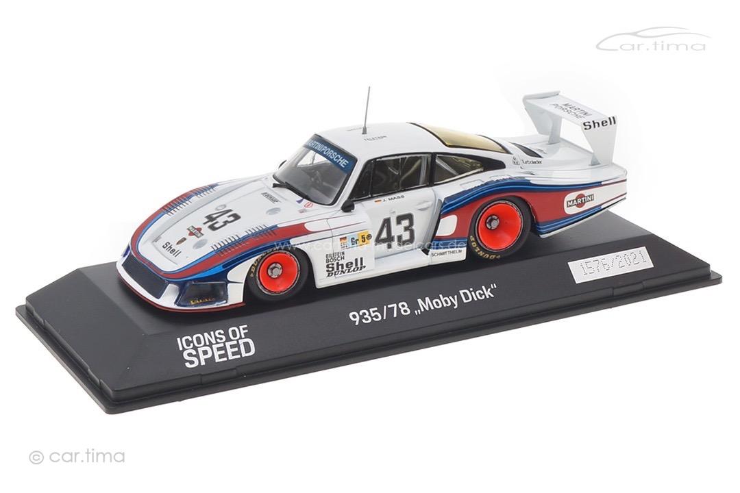 """Porsche 935/78 """"Moby Dick"""" Jochen Mass Spark 1:43 WAP0209350MMDE"""