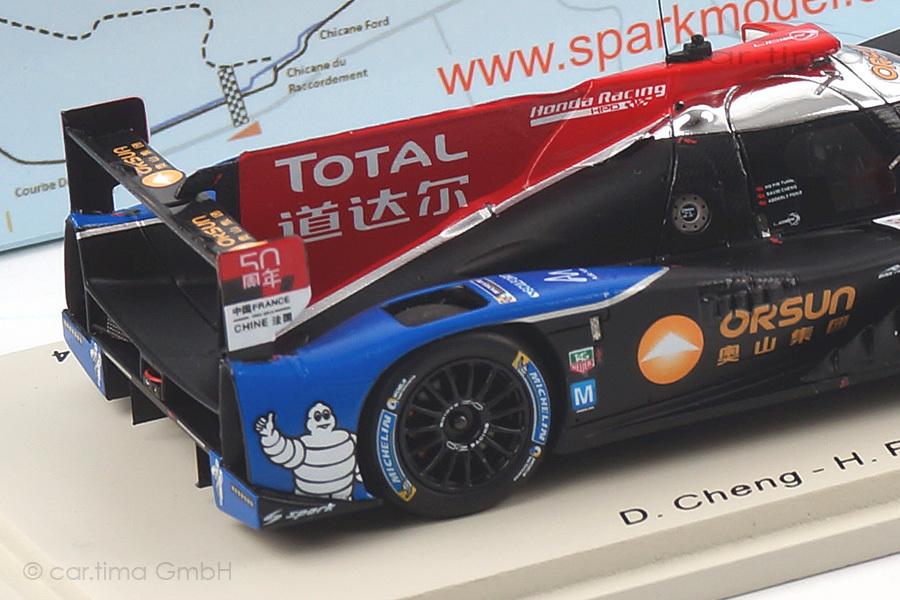 Ligier JS P2-HPD 24h Le Mans 2014 Cheng/Fong/Tung Spark 1:43 S4214