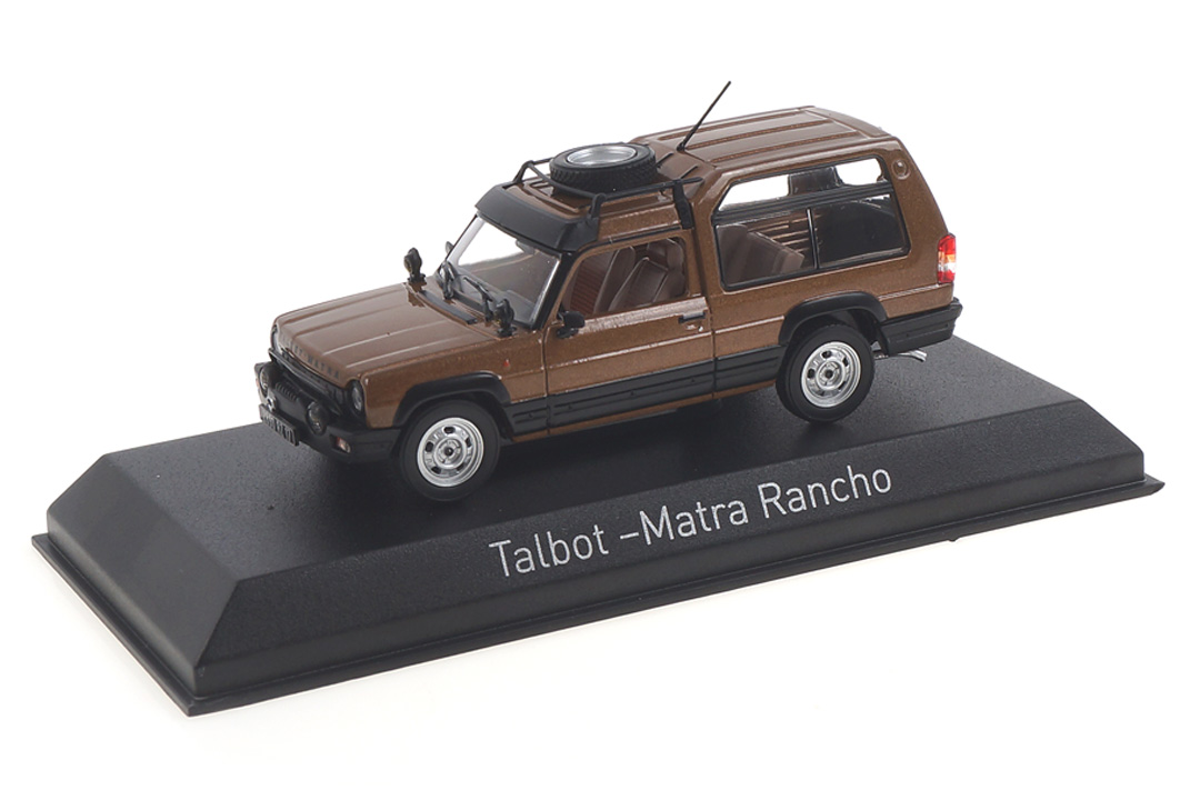 Talbot-Matra Rancho 1982 Chanelle Bronze Norev 1:43 574111