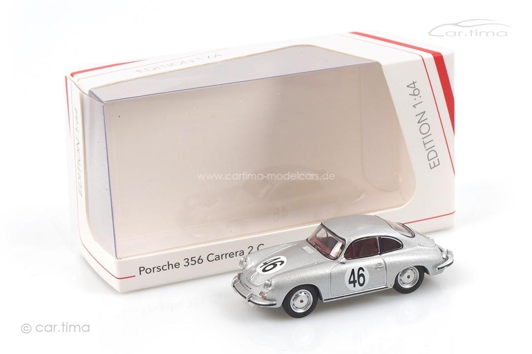 Porsche 356 Coupé #46 silber Schuco 1:64 452032000