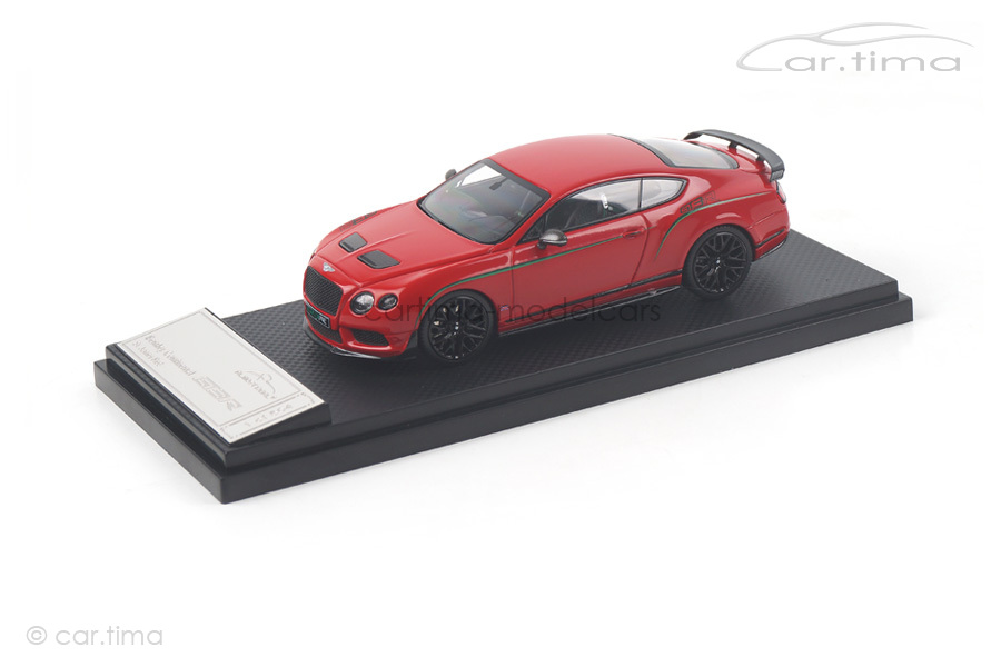Bentley GT3-R St. James Red China Edition Almost Real 1:43 430402
