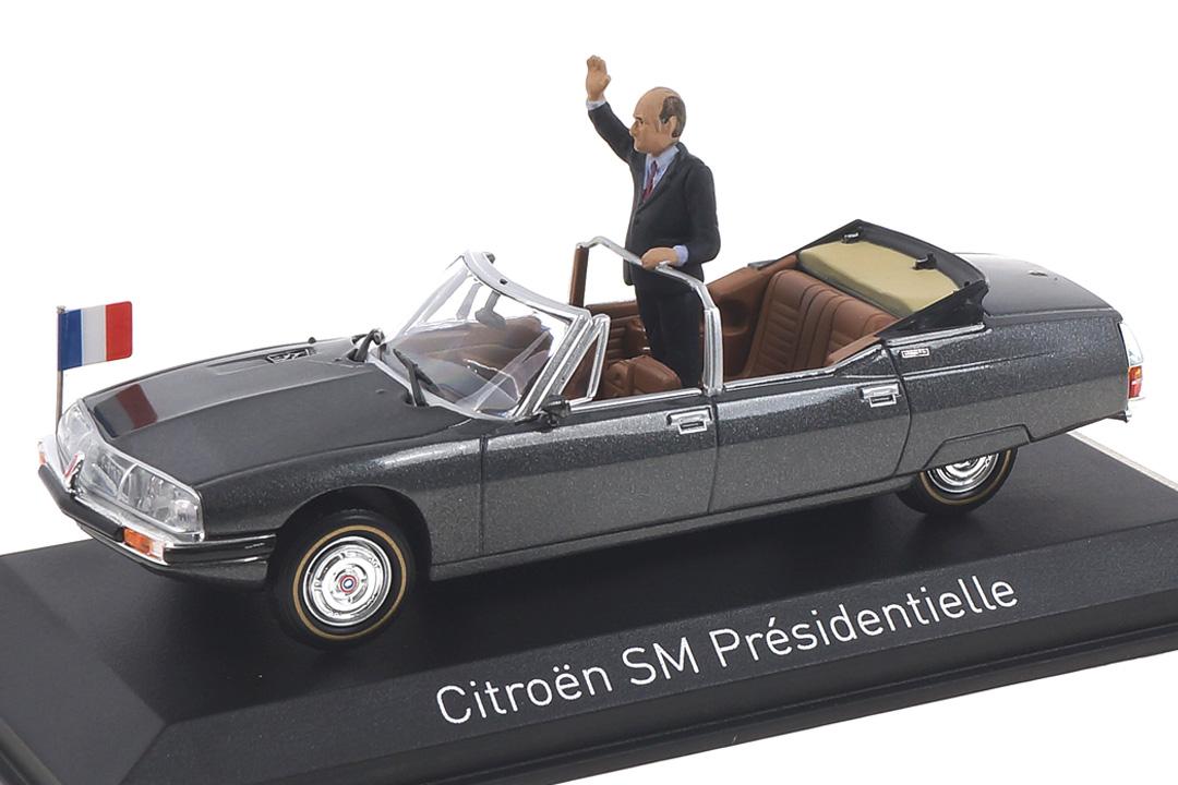 Citroen SM Présidentielle 1981 Norev 1:43 158705
