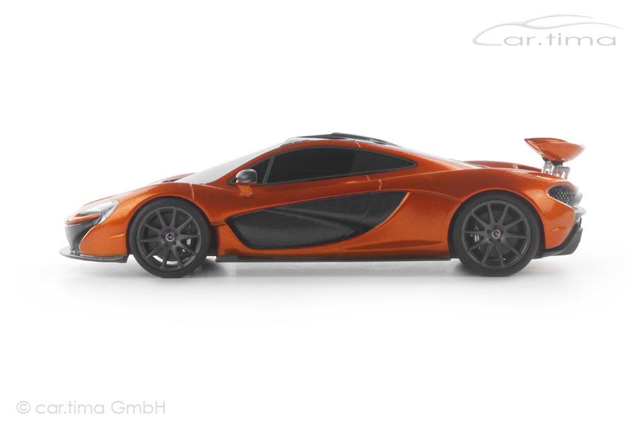 McLaren P1 Volcano orange Race Mode Präsentation 2012 TSM 1:43 TSM134321