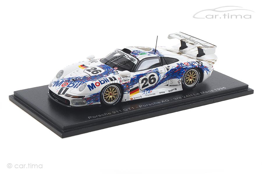 Porsche 911 GT1 24h Le Mans 1996 Dalmas/Goodyear/Wendlinger Spark 1:43 S5603