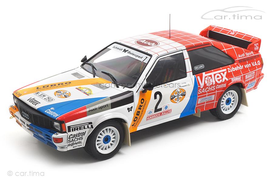 Audi quattro Rallye DM 1984 Demuth/Lux IXO Models 1:18 18RMC010