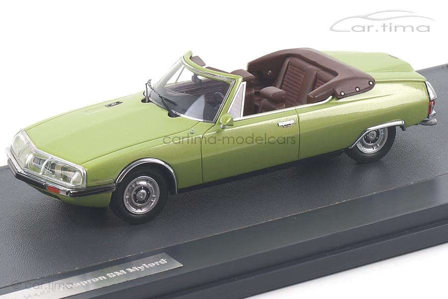 Citroen SM Le Mylord Chapron Convertible Matrix Scale Models 1:43  MX10304-022