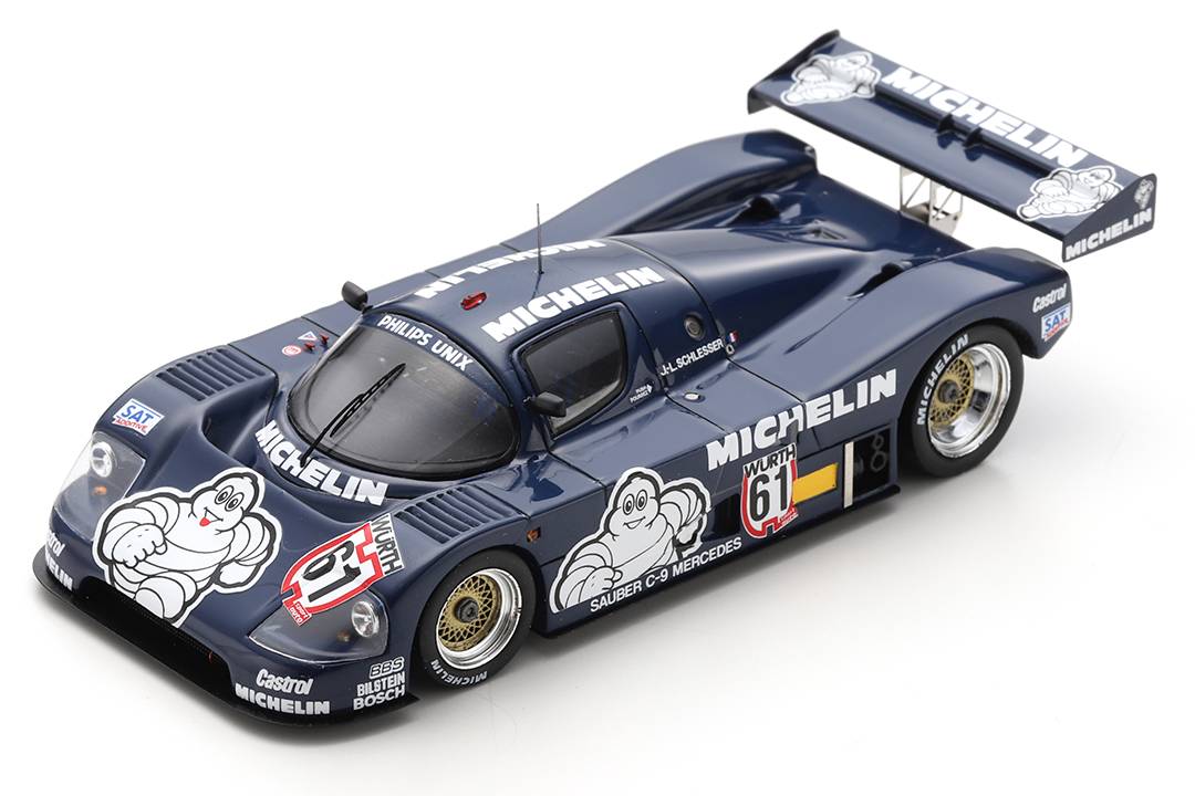 Sauber C9 Winner Supercup Nürburgring 1987 Jean-Louis Schlesser Spark 1:43 SG429