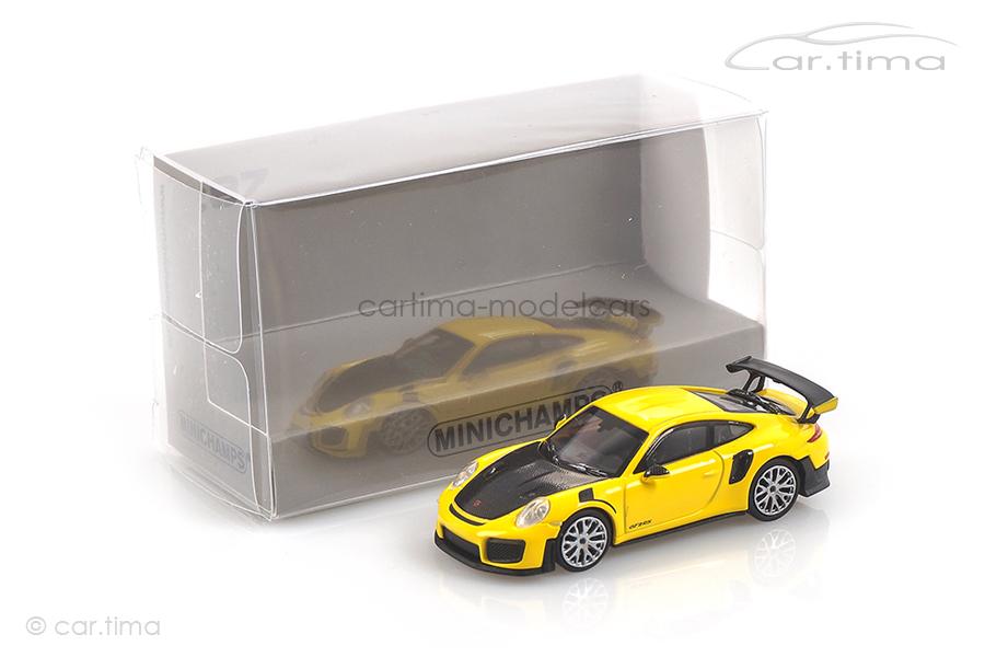 Porsche 911 (991 II) GT2 RS Racinggelb Minichamps 1:87 870068124
