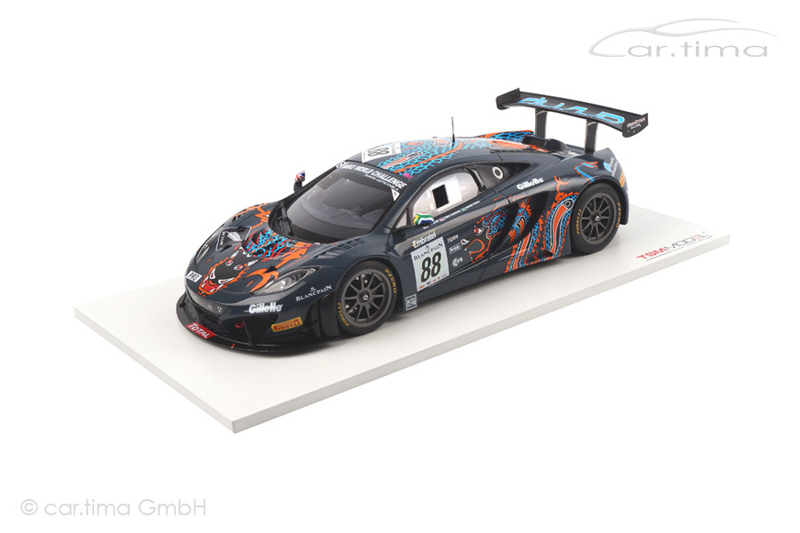 McLaren MP4-12C GT3 24h Spa 2013 Barff/Goodwin/Senna TSM 1:18 TSM141823R
