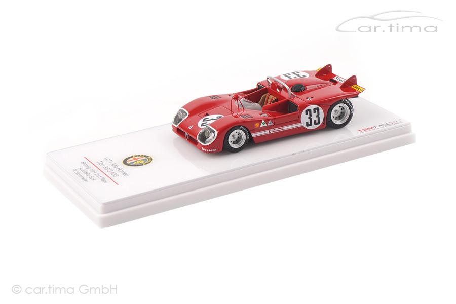 Alfa Romeo Tipo 33/3 12h Sebring 1971 Rolf Stommelen TSM 1:43 TSM144311
