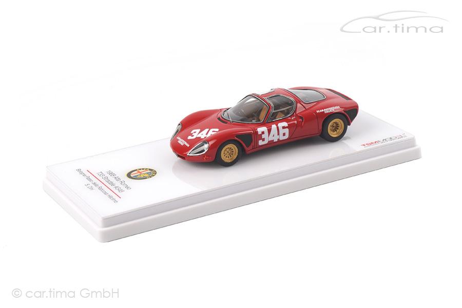 Alfa Romeo T33 Stradale Bologna Passo della Raticosa Hillclimb 1968 Dini TSM 1:43 TSM124309