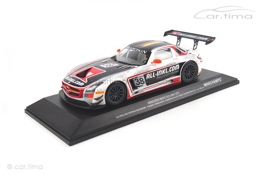 Mercedes-Benz SLS AMG GT3 Champions FIA GT1 Worldchampionship 2012 Minichamps 1:18 151123138