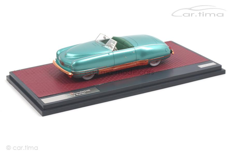Chrysler Thunderbolt Concept LeBaron 1941 grün Matrix 1:43 MX20303-031