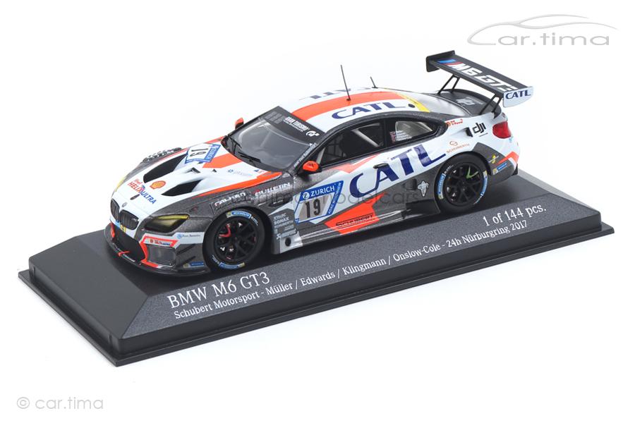 BMW M6 GT3 24h Nürburgring 2017 Klingmann/Edwards/Onslow Minichamps 1:43 437172619