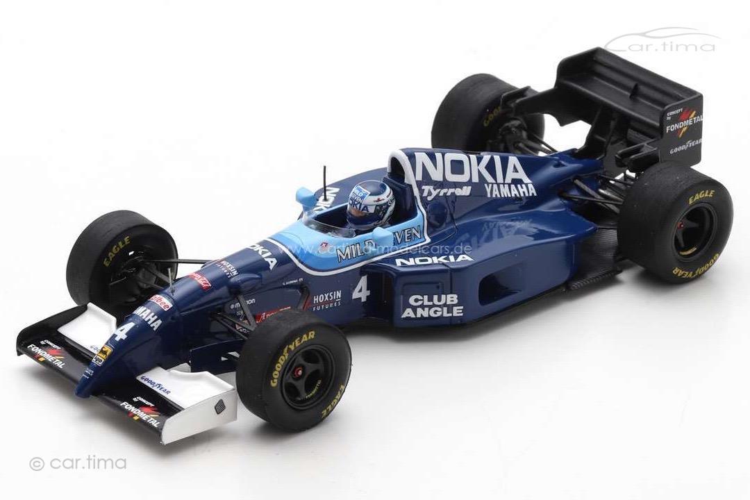 Tyrrell 023 GP Brasilien 1995 Mika Salo Spark 1:43 S6974