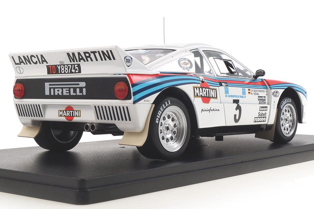 Lancia 037 Rallye Acropolis 1983 Röhrl/Geistdörfer IXO 1:18 18RMC054A