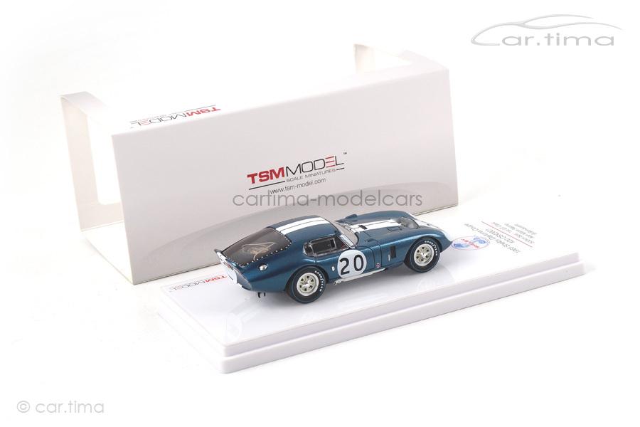 Shelby Daytona Coupe 500 km Spa 1965 Bondurant TSM 1:43 TSM154357