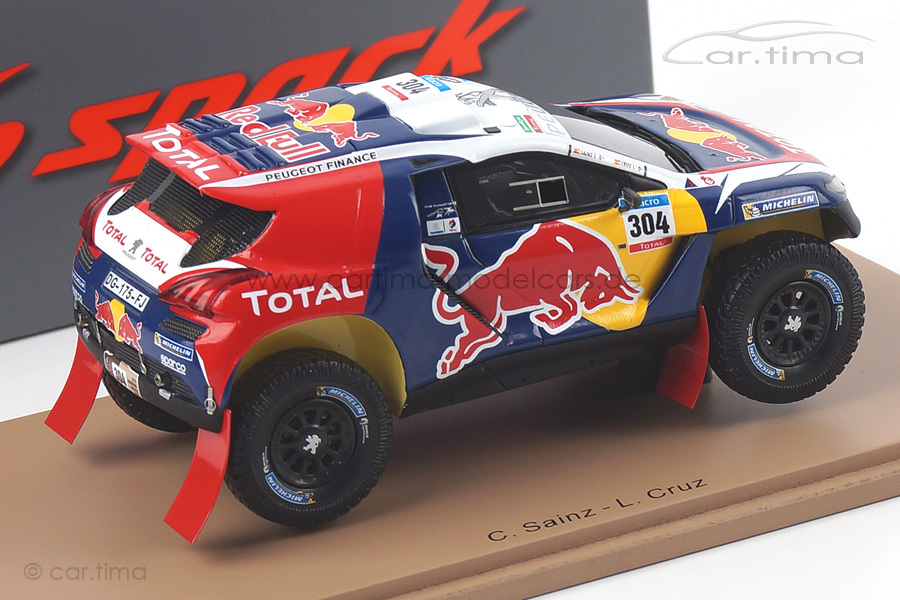 Peugeot DKR Rally Dakar 2015 Sainz/Cruz Spark 1:43 S4455