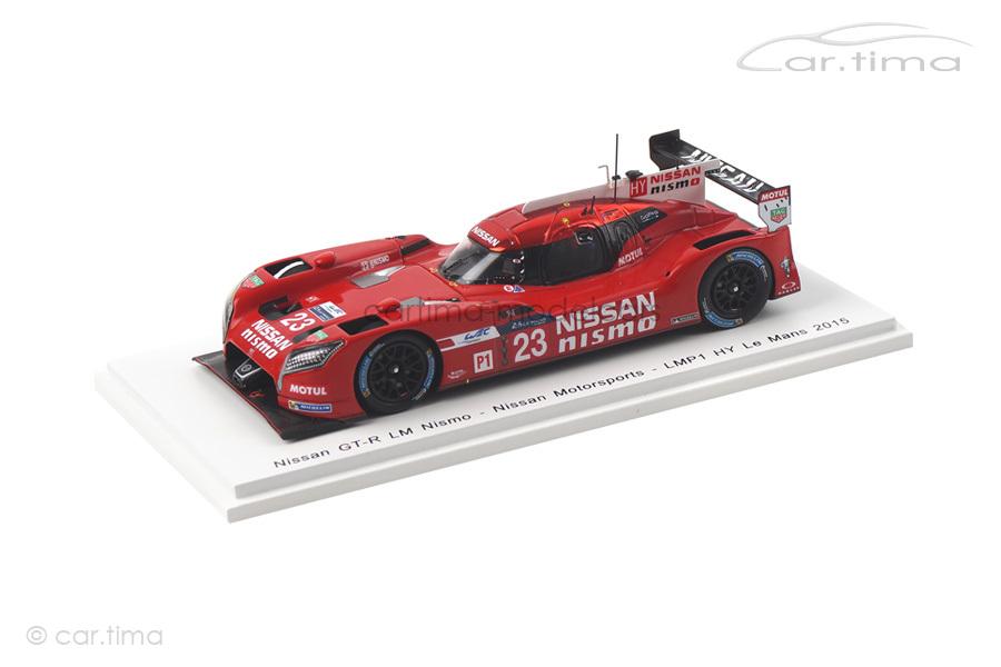 Nissan GT-R LM Nismo 24h Le Mans 2015 Chilton/Mardenborough/Pla Spark 1:43 S4642