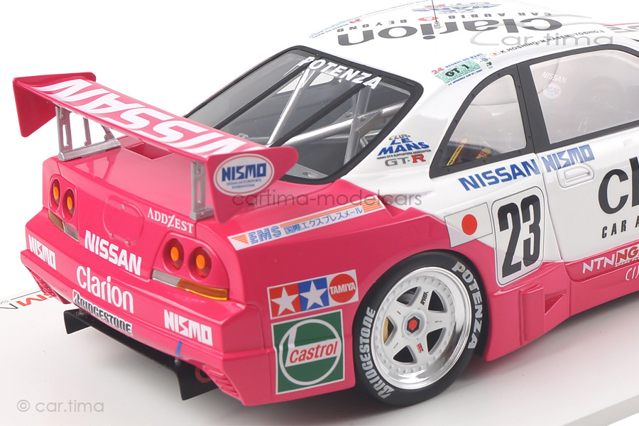 Nissan Skyline GT-R LM 24h Le Mans 1996 TSM 1:18 TSM161811R