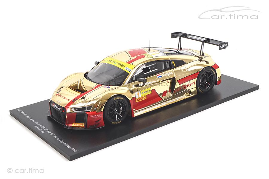 Audi R8 LMS FIA GT World Cup Macau 2017 Robin Frijns Spark 1:18 18SA014