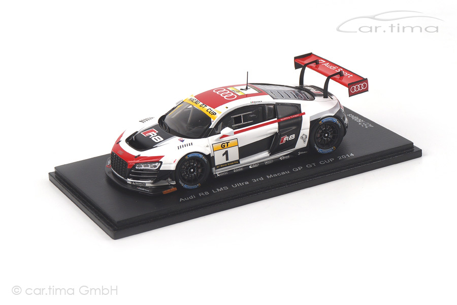 Audi R8 LMS Ultra Macau GP GT Cup 2014 Edoardo Mortara Spark 1:43 SA070