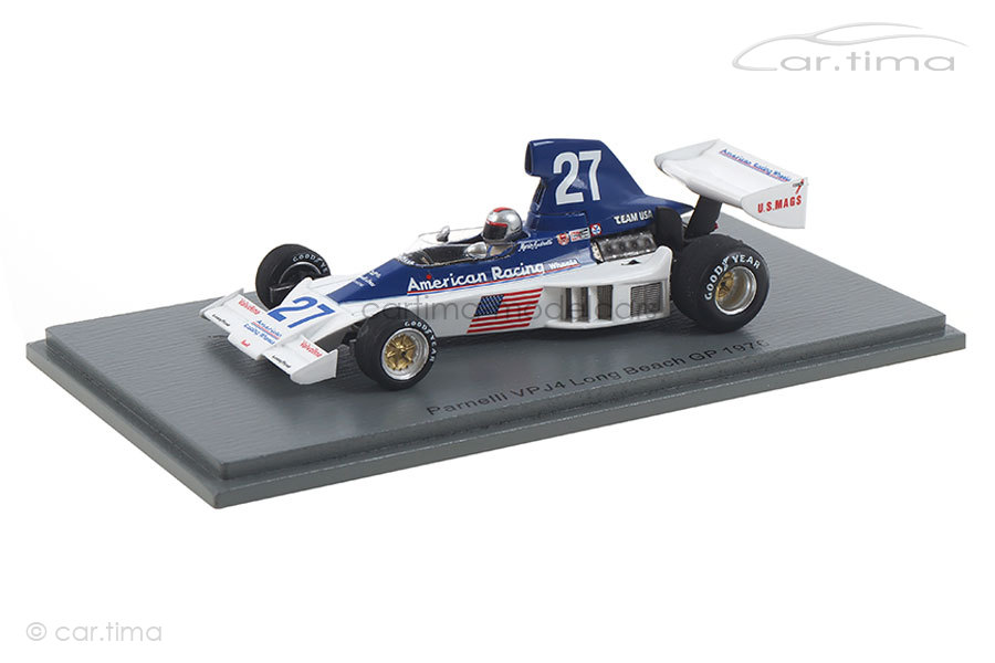 Parnelli VPJ4B GP Long Beach 1976 Mario Andretti Spark 1:43 S1891