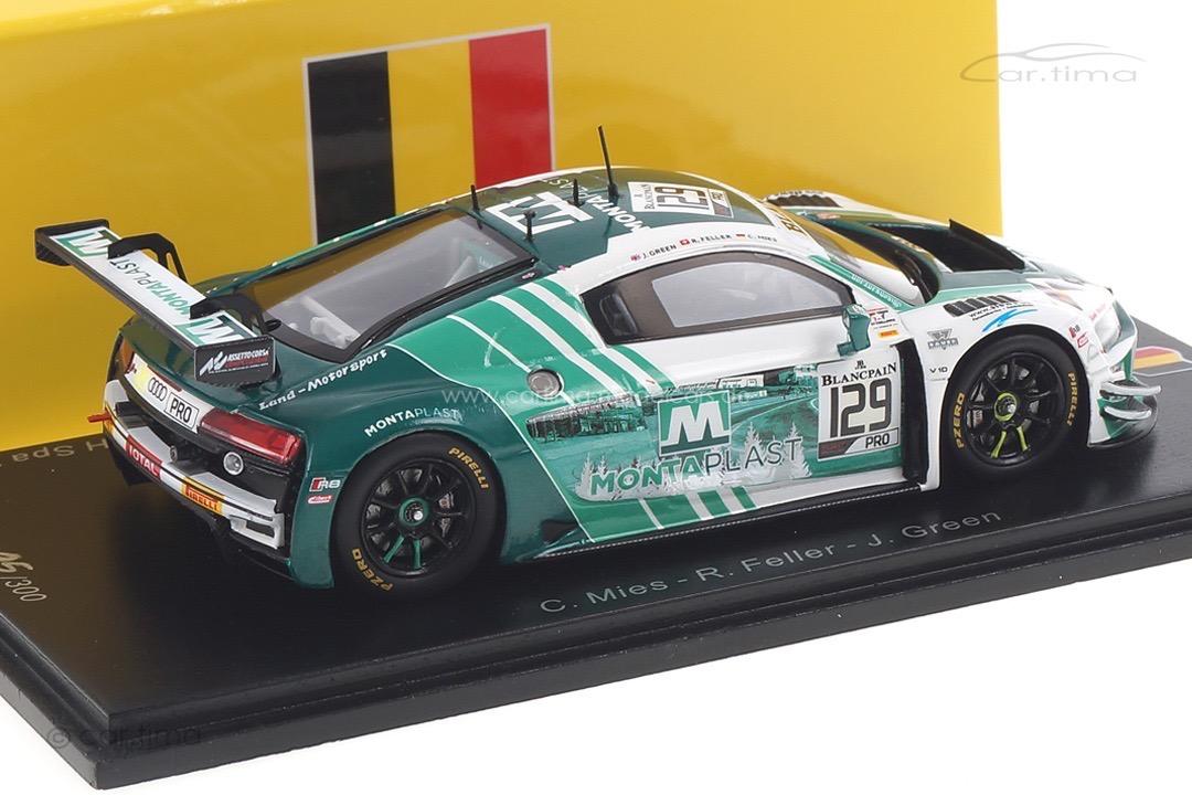 Audi R8 LMS GT3 24h Spa 2019 Feller/Green/Mies Spark 1:43 SB260