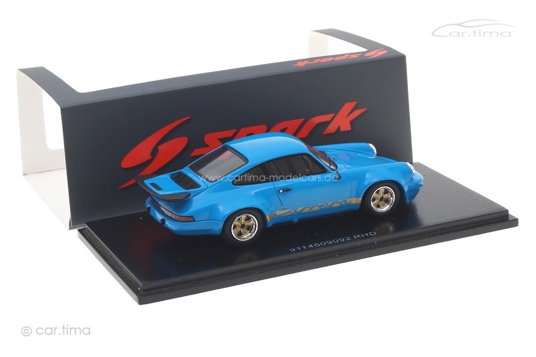 Porsche 911 RS 3.0 blau Spark 1:43 S7640