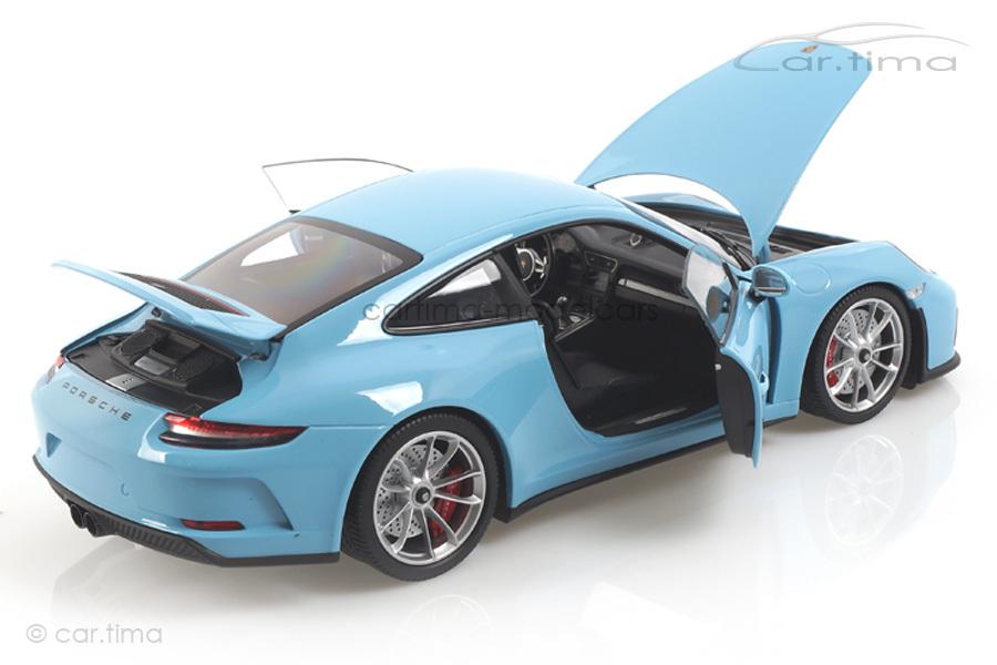 Porsche 911 (991 II) GT3 Touring Gulfblau Minichamps 1:18 110067420