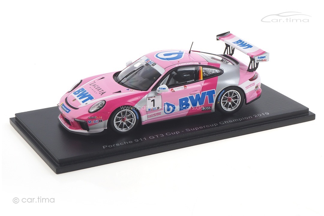 Porsche 911 GT3 Cup Supercup Champion 2019 Michael Ammermüller Spark 1:43 S8504