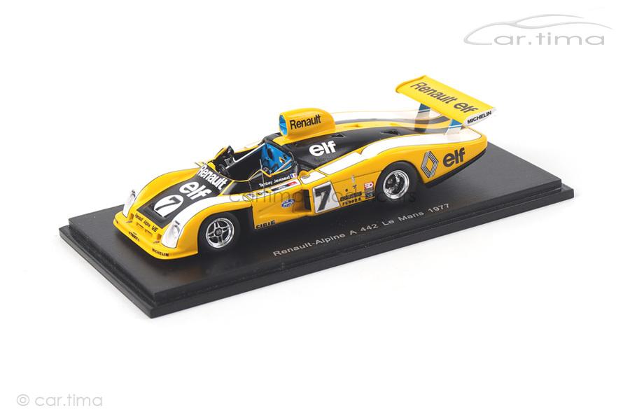 Renault-Alpine A 442 24h Le Mans 1977 Jaussaud/Tambay Spark 1:43 S1553
