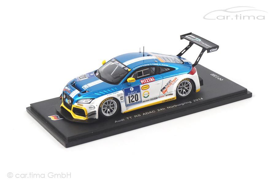 Audi TT RS 24h Nürburgring 2014 Botor/Kletzer/Schmid Spark 1:43 SG140