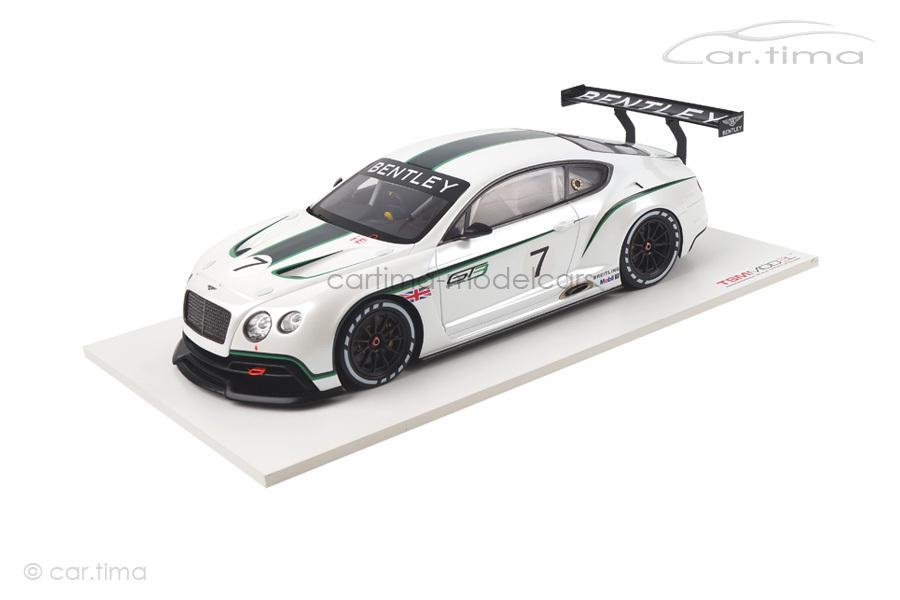 Bentley Continental GT3 Concept Car 2012 TSM 1:18 TSM131804R