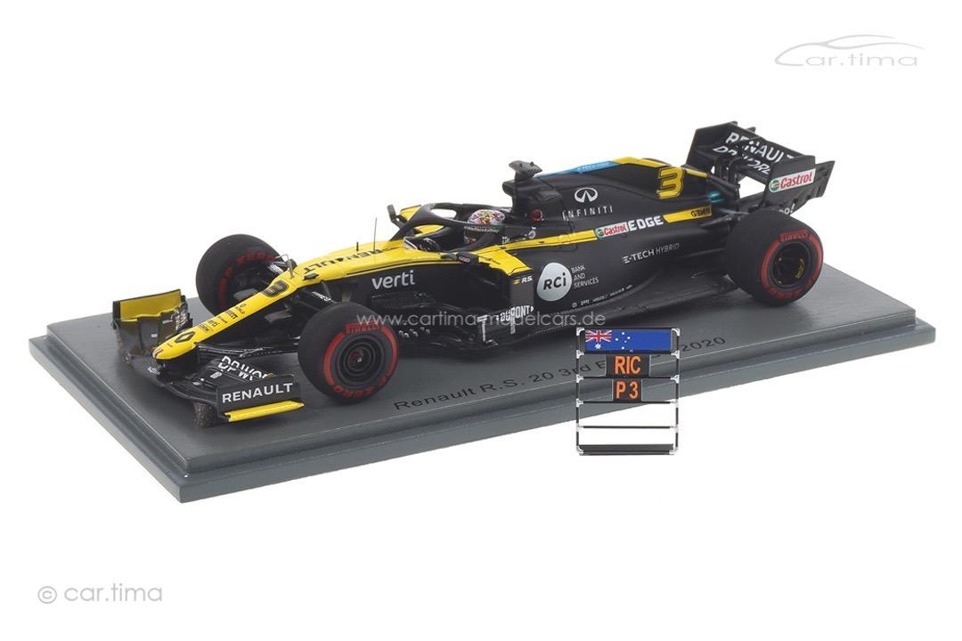 Renault R.S. 20 GP Eifel 2020 Daniel Ricciardo Spark 1:43 S6484