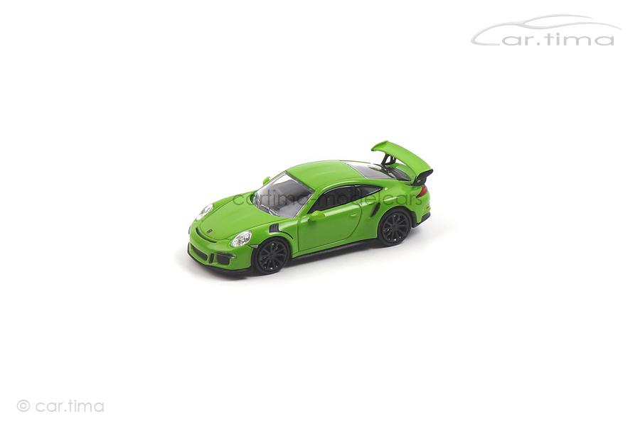 Porsche 911 (991) GT3 RS 2013 Lichtgrün Minichamps 1:87 870063221