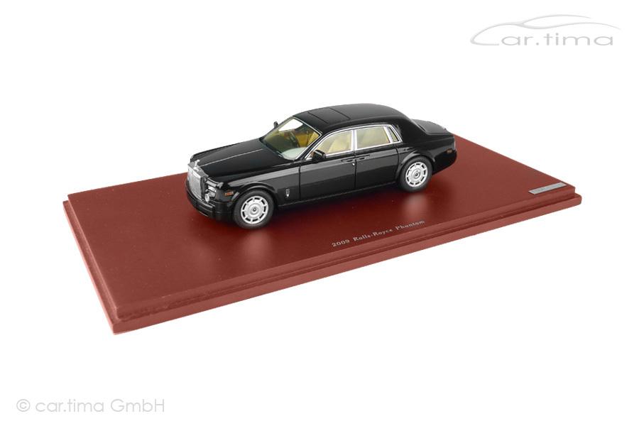 Rolls-Royce Phantom 2009 schwarz TSM 1:43 TSM114323