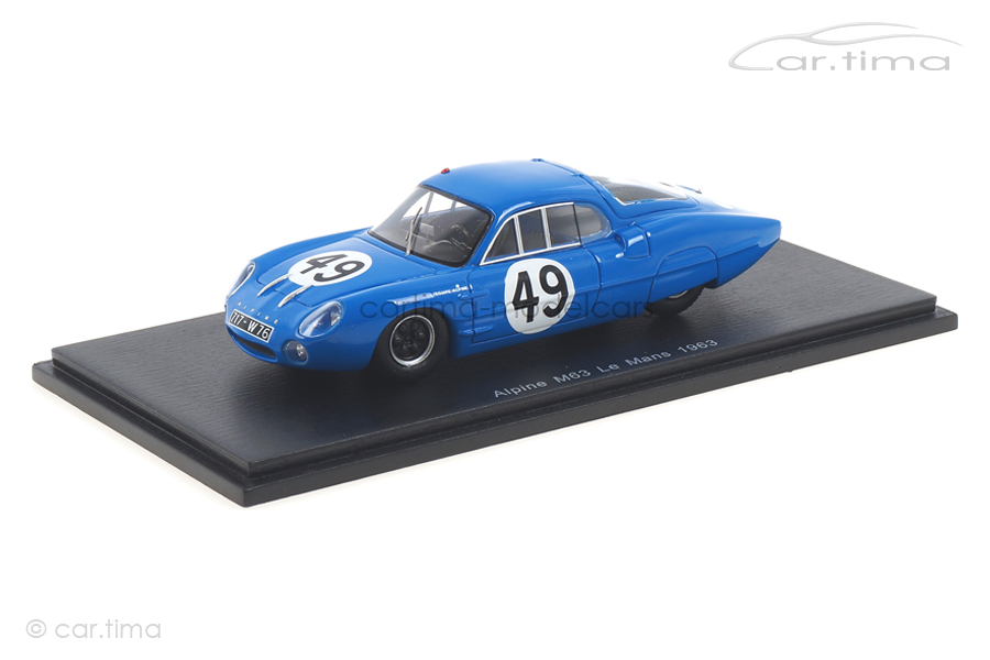 Alpine M63 24h Le Mans 1963 Frescobaldi/Richard Spark 1:43 S5483