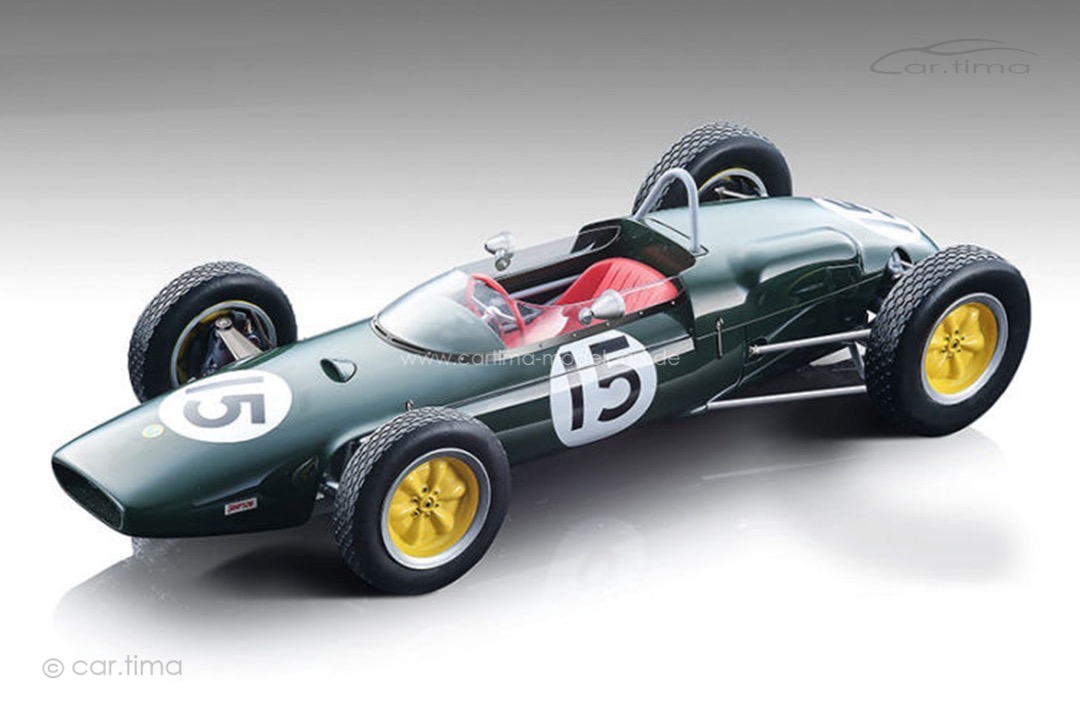 Lotus-F1 21 Winner GP USA 1961 Innes Ireland Tecnomodel 1:18 TM18-182A