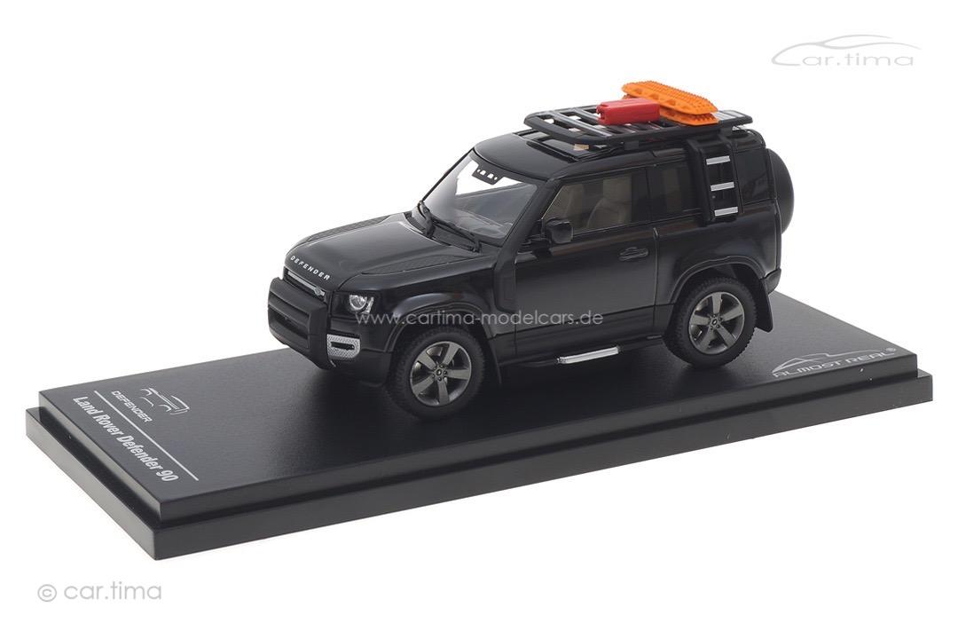 Land Rover Defender 90 2020 Santorini Black Almost Real 1:43 410708