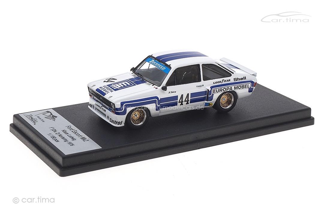 Ford Escort MK2 Winner Norisring 1976 Klaus Ludwig Troféu 1:43 RRDE35