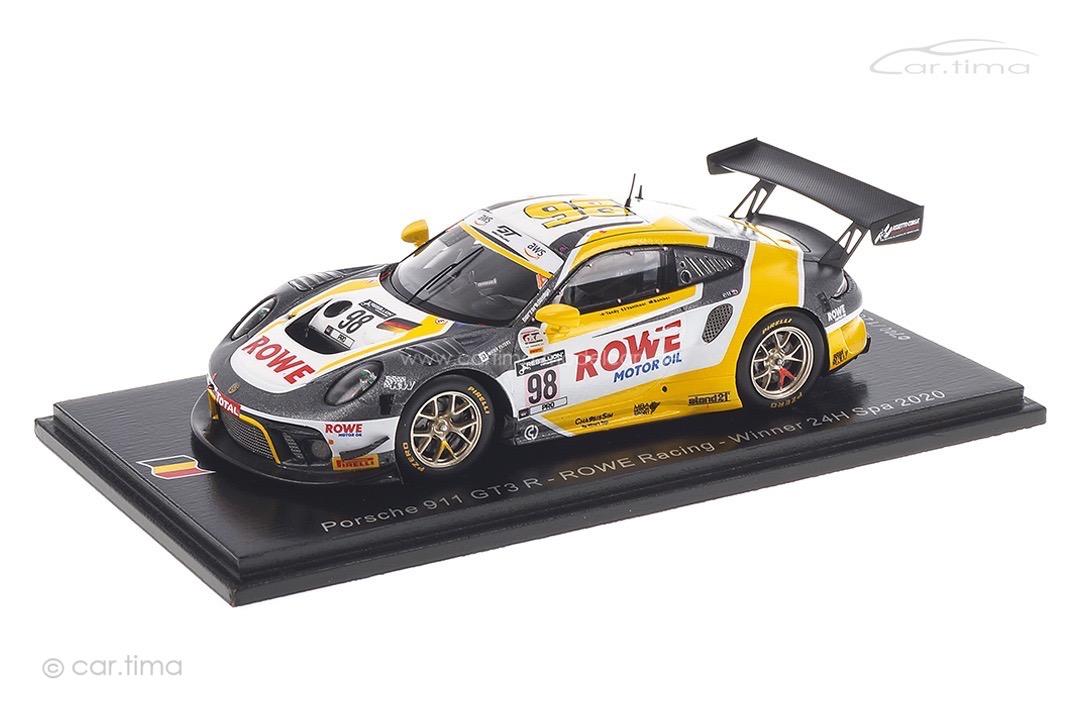 Porsche 911 GT3 R Winner 24h Spa 2020 Bamber/Tandy/Vanthoor Spark 1:43 SB370