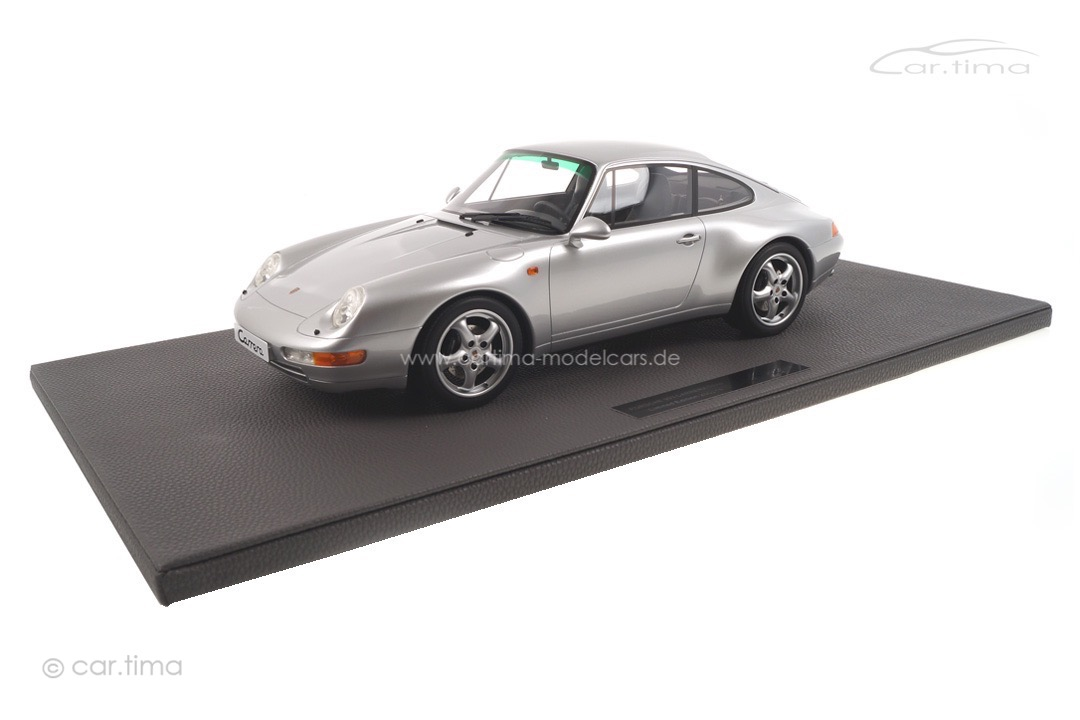 Porsche 911 (993) Carrera Arktissilber Top Marques 1:12 TM12-18B