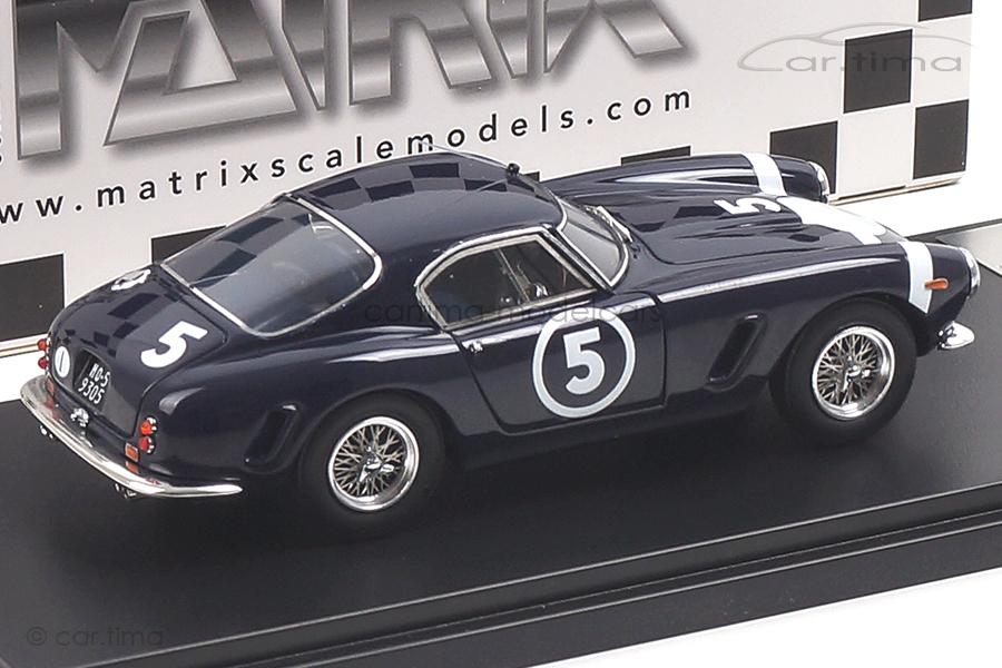 Ferrari 250GT Passo Corto Winner Nassau Tourist Trophy 1960 Stirling Moss Matrix 1:43 MXR40604-012