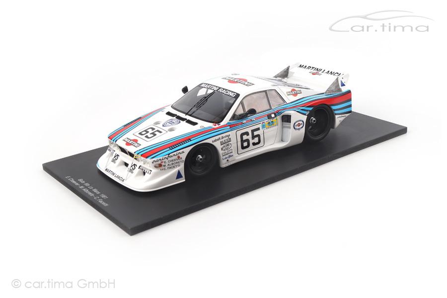Lancia Beta Monte Carlo 24h Le Mans 1981 Alboreto/Cheever/Facetti Spark 1:18 18S160