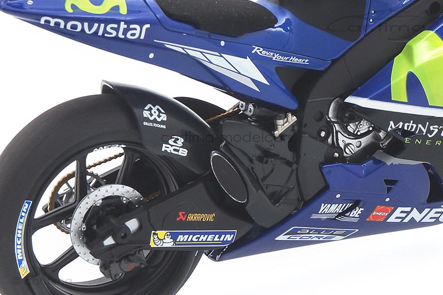 Yamaha YZR-M1 MotoGP 2017 Maverick Vinales Minichamps 1:12 122173025