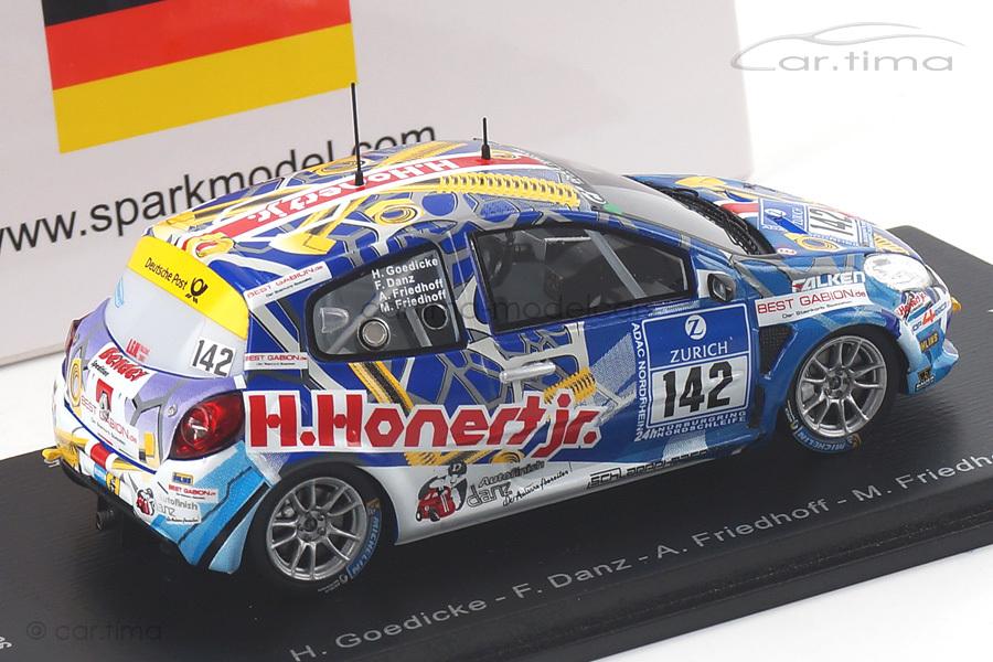 Renault Clio 24h Nürburgring 2015 Danz/Friedhoff/Goedicke Spark 1:43 SG199